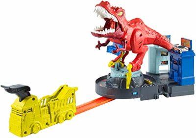 Hot Wheels Rampa T Rex Playset Con Lanciatore Per Macchinine Giocattolo Per Bambini 4 Anni Gfh88 0