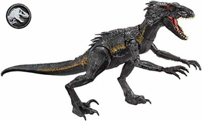 Jurassic World Indoraptor Dinosauro Attacca E Ruggisci Multicolore Fly53 0