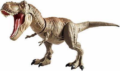 Jurassic World Tirannosauro Mordi E Attacca Di Dimensioni Superiori Con Mosse Dattacco Di Testa E Coda Giocattolo Per Bambini Di 4 Anni Gct91 0