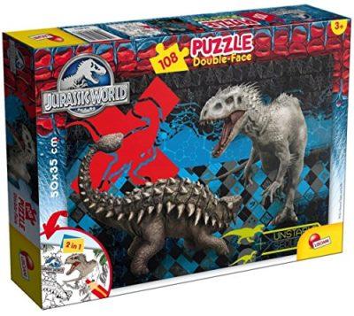 Lisciani 48632 Jurassic Indominus Puzzle Df Plus 108 Pezzi 0