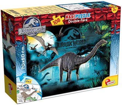 Lisciani 48670 Jurassic Cretaceous Puzzle Df Supermaxi 108 Pezzi 0