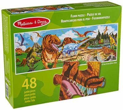 Melissa Doug 10442 Puzzle Da Pavimento Terra Dei Dinosauri 0