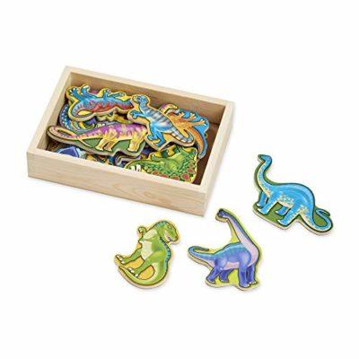 Melissa Doug 10476 20 Dinosauri Di Legno Magnetizzati 0