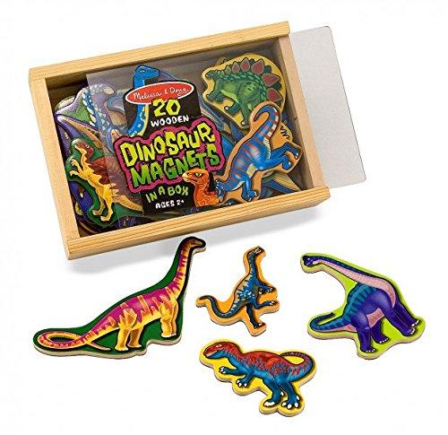 Melissa Doug 20 Dinosauri Di Legno Magnetizzati 0 0