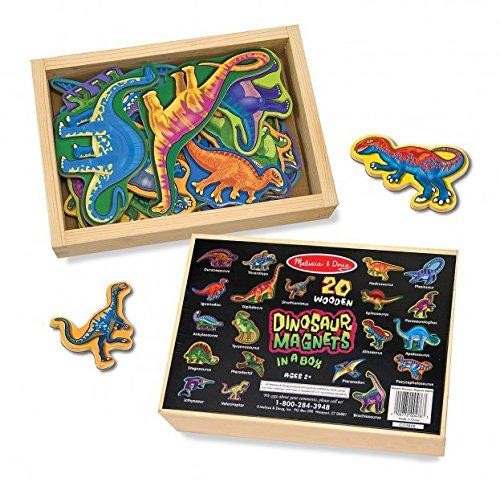 Melissa Doug 20 Dinosauri Di Legno Magnetizzati 0 1