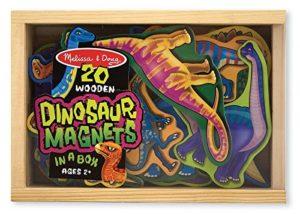 Melissa Doug 20 Dinosauri Di Legno Magnetizzati 0