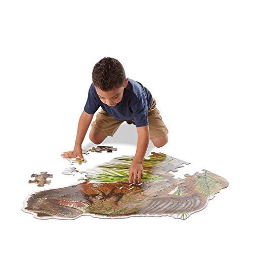 Melissa Doug Puzzle Da Pavimento Di Tyrannosaurus Rex 48 Pezzi 60x90 Cm 10431 0 0