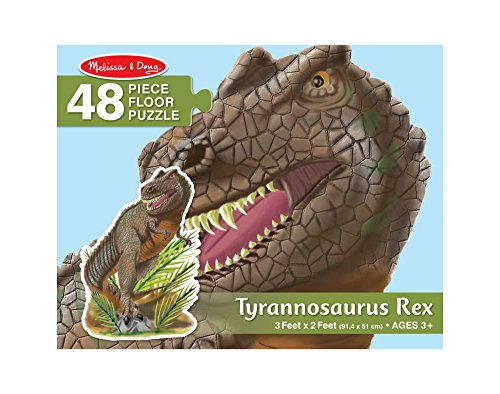 Melissa Doug Puzzle Da Pavimento Di Tyrannosaurus Rex 48 Pezzi 60x90 Cm 10431 0 1