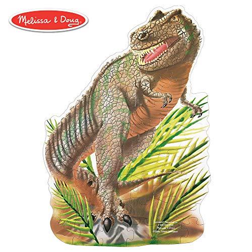 Melissa Doug Puzzle Da Pavimento Di Tyrannosaurus Rex 48 Pezzi 60x90 Cm 10431 0