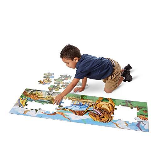 Melissa Doug Terra Dei Dinosauri Puzzle Da Pavimento 48 Pezzi 0 0