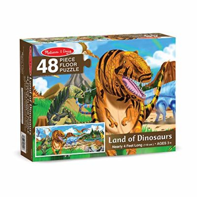 Melissa Doug Terra Dei Dinosauri Puzzle Da Pavimento 48 Pezzi 0 1