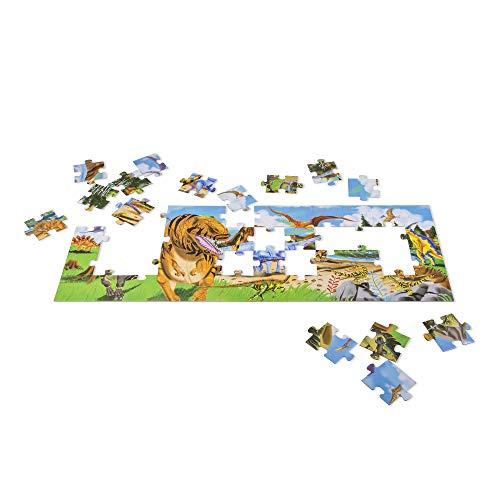 Melissa Doug Terra Dei Dinosauri Puzzle Da Pavimento 48 Pezzi 0 2