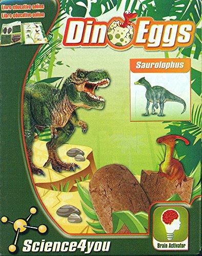 Science4you Bambini Costruzione Gioco Imparare Brachiosaurus Dino Egg Kitlibro Et 4 0
