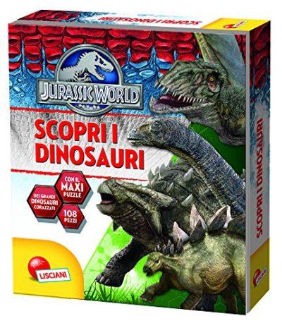 Scopri I Dinosauri Jurassic World Ediz Illustrata Con Puzzle Copertina Rigida 31 Gen 2016 0