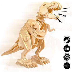 Dinosauri 3d Legno