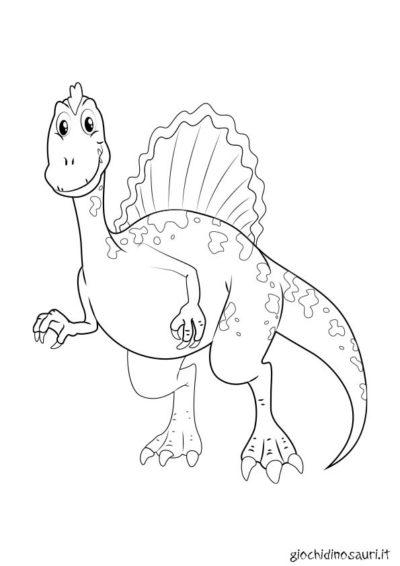 Dinosauro Spinosauro Colorare