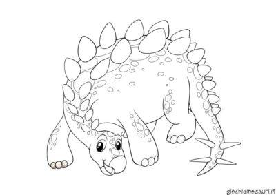 Stegosauro Immagini Da Colorare