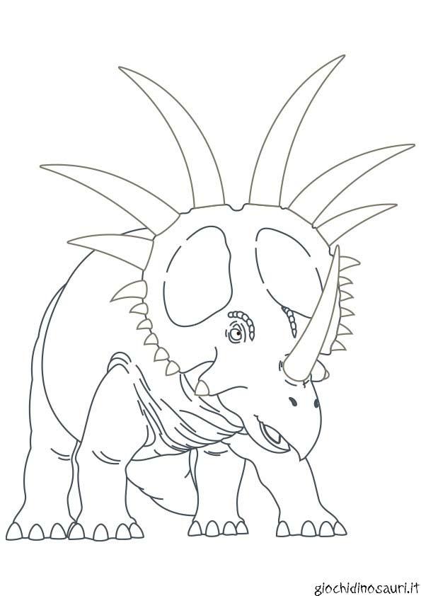 Stiracosauro Da Colorare Stampare