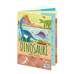 Dinosauri E Animali Preistorici Pop Up Sopra E Sotto Ediz A Colori Italiano Cartonato 6 Set 2018 0