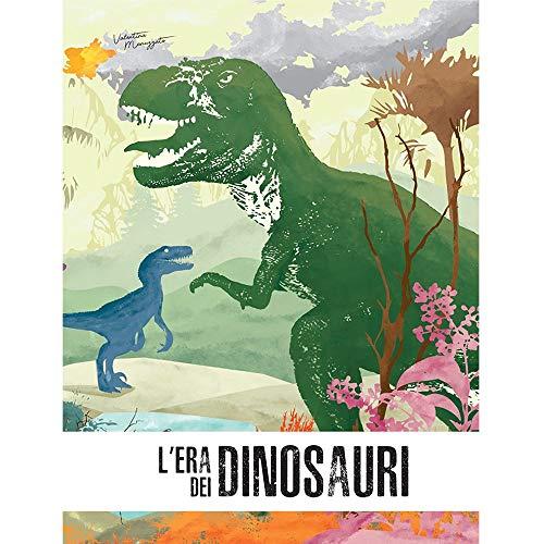 Lera Dei Dinosauri Lo Stegosauro 3d Con Giocattolo Italiano Copertina Flessibile 2 Mag 2019 0 0