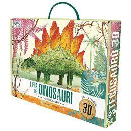 Lera Dei Dinosauri Lo Stegosauro 3d Con Giocattolo Italiano Copertina Flessibile 2 Mag 2019 0