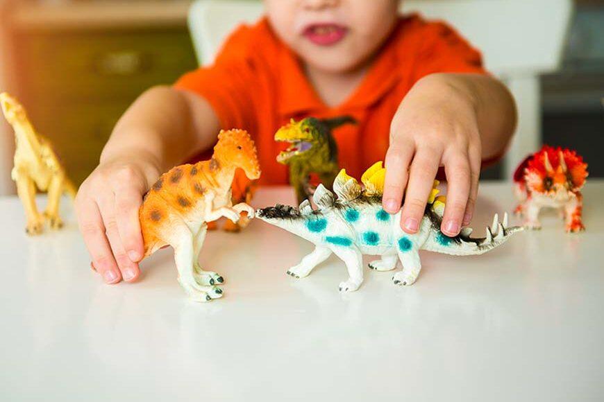 Modellini dinosauri, a caccia del tuo animale preistorico