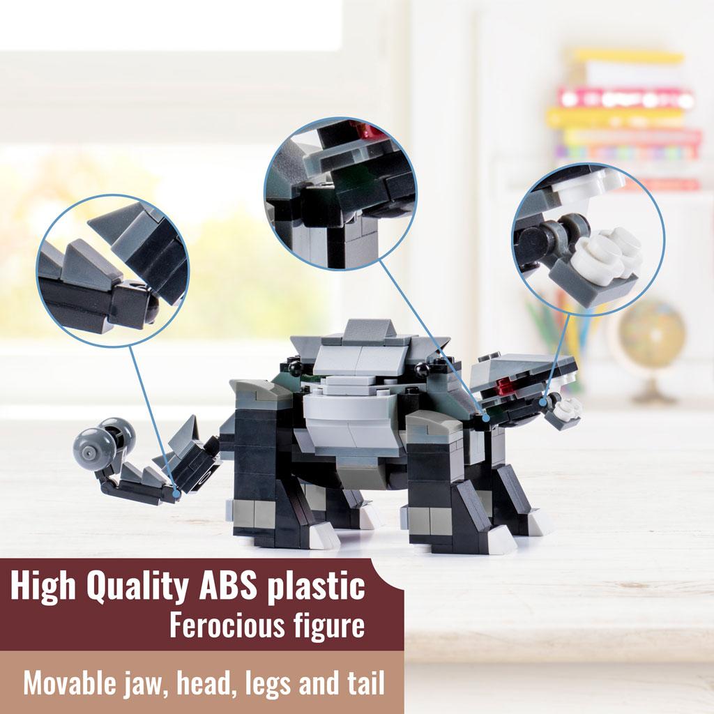 Anchilosauro Compatibile Lego 4kiddo Dettagli Modellino