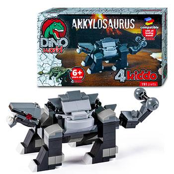 Anchilosauro Da Costruire Lego Compatibile 4kiddo