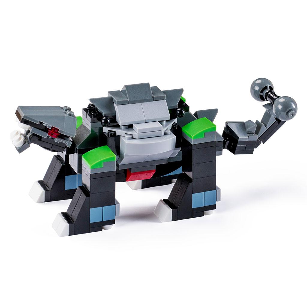 Anchilosauro Lego Compatibile Dettaglio
