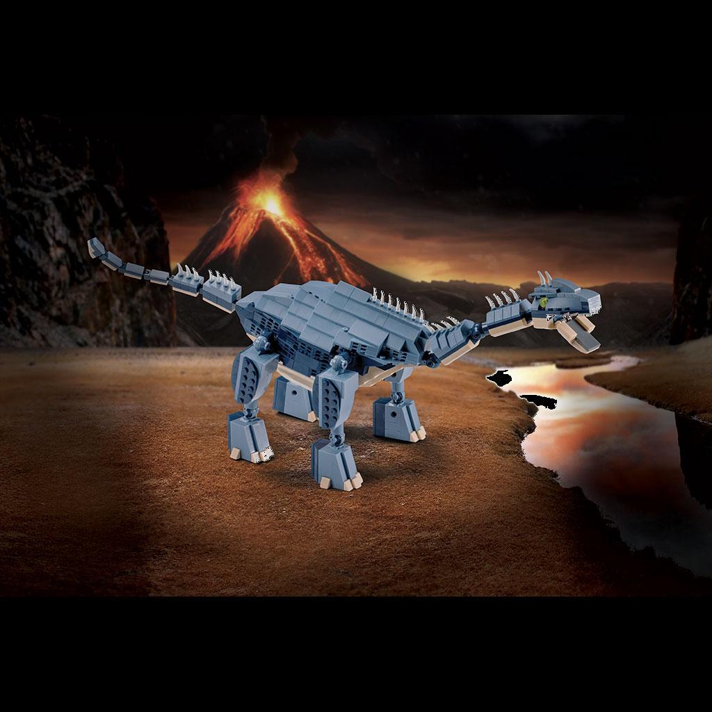 Brachiosauro 4kiddo Lego Compatibile Vulcano