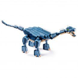 Brachiosauro Lego Compatibile 4kiddo 619 Mattoncini