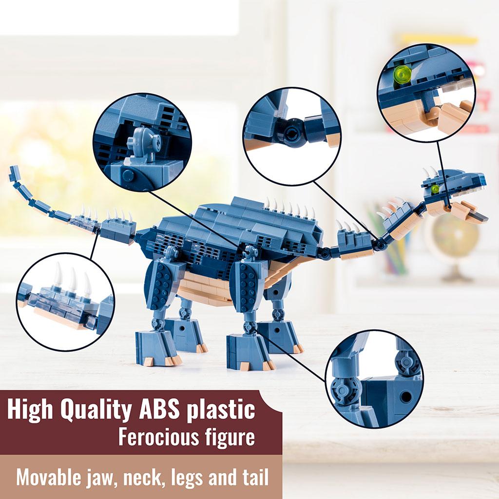 Brachiosauro Lego Compatibile 4kiddo Dettagli