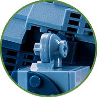 Brachiosauro Lego Compatibile 4kiddo Zampe