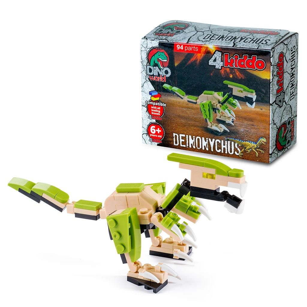 Deinonychus 4kiddo Lego Compatibile Modellino