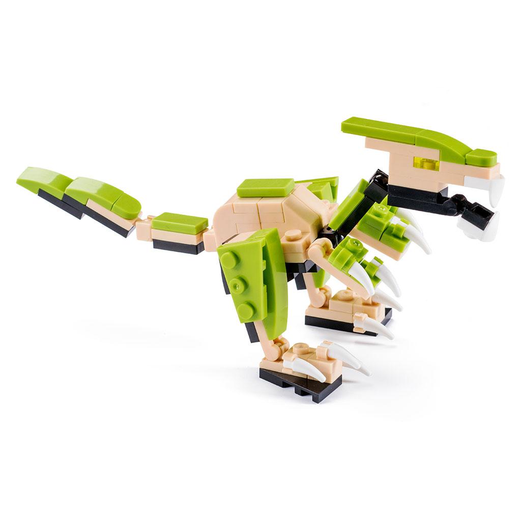 Deinonychus Lego Compatibile 4kiddo 94 Mattoncini