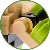 Deinonychus Lego Compatibile 4kiddo Artigli