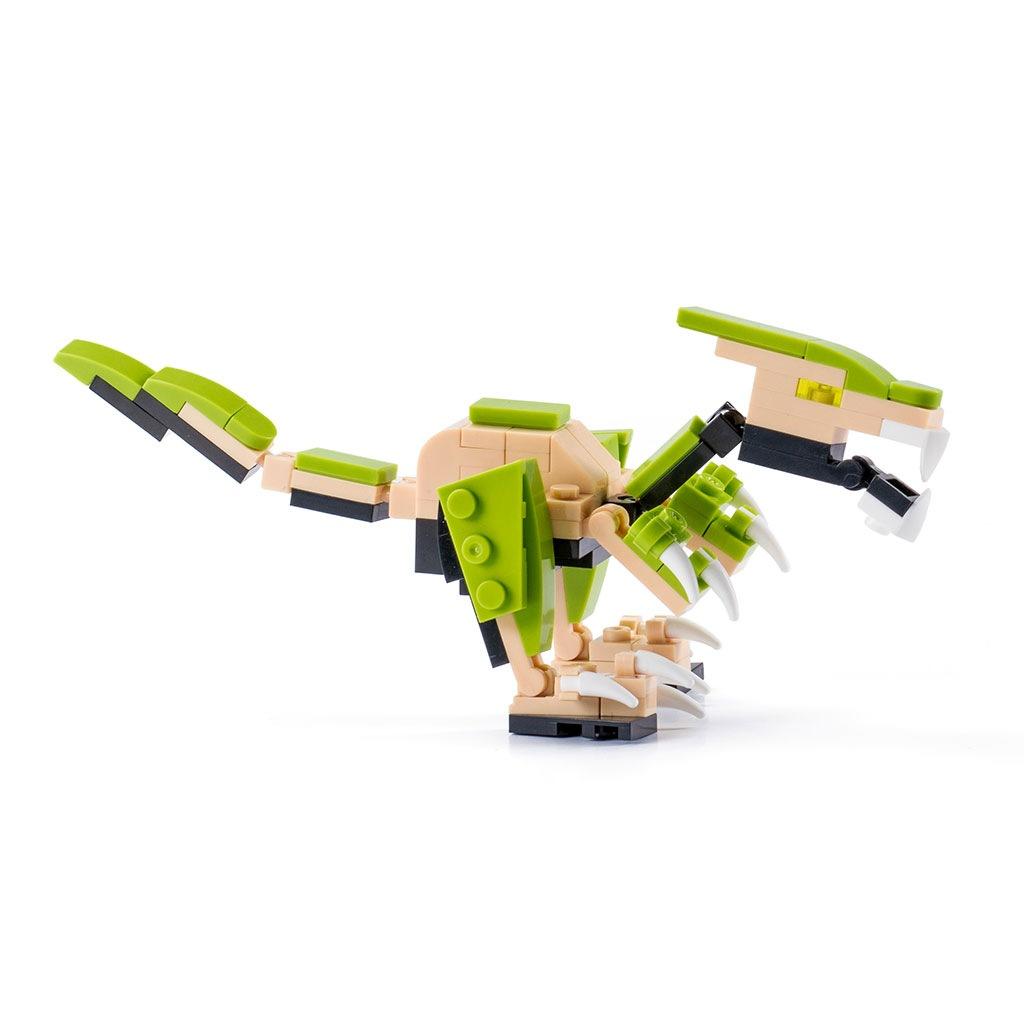 Deinonychus Lego Compatibile 4kiddo Lato