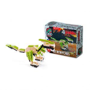 Deinonychus Lego Compatibile 4kiddo Scatola Modellino