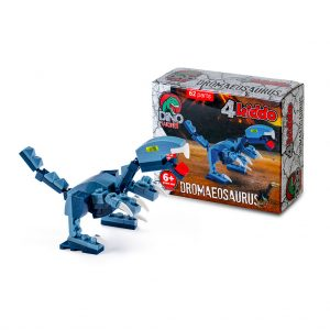 Dromeosauro Lego Compatibile 4kiddo Modellino Scatola