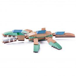 Pliosauro Lego Compatibile 4kiddo 126 Mattoncini