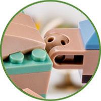 Pliosauro Lego Compatibile 4kiddo Coda