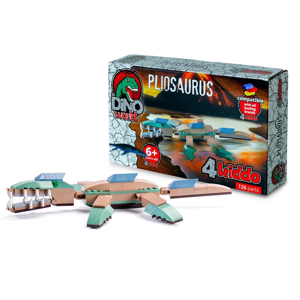 Pliosauro Lego Compatibile 4kiddo Scatola Modellino