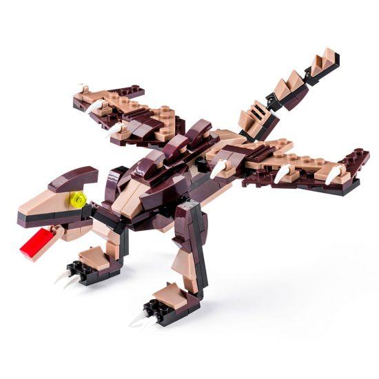 Pteranodonte Lego Compatibile 4kiddo 160 Mattoncini