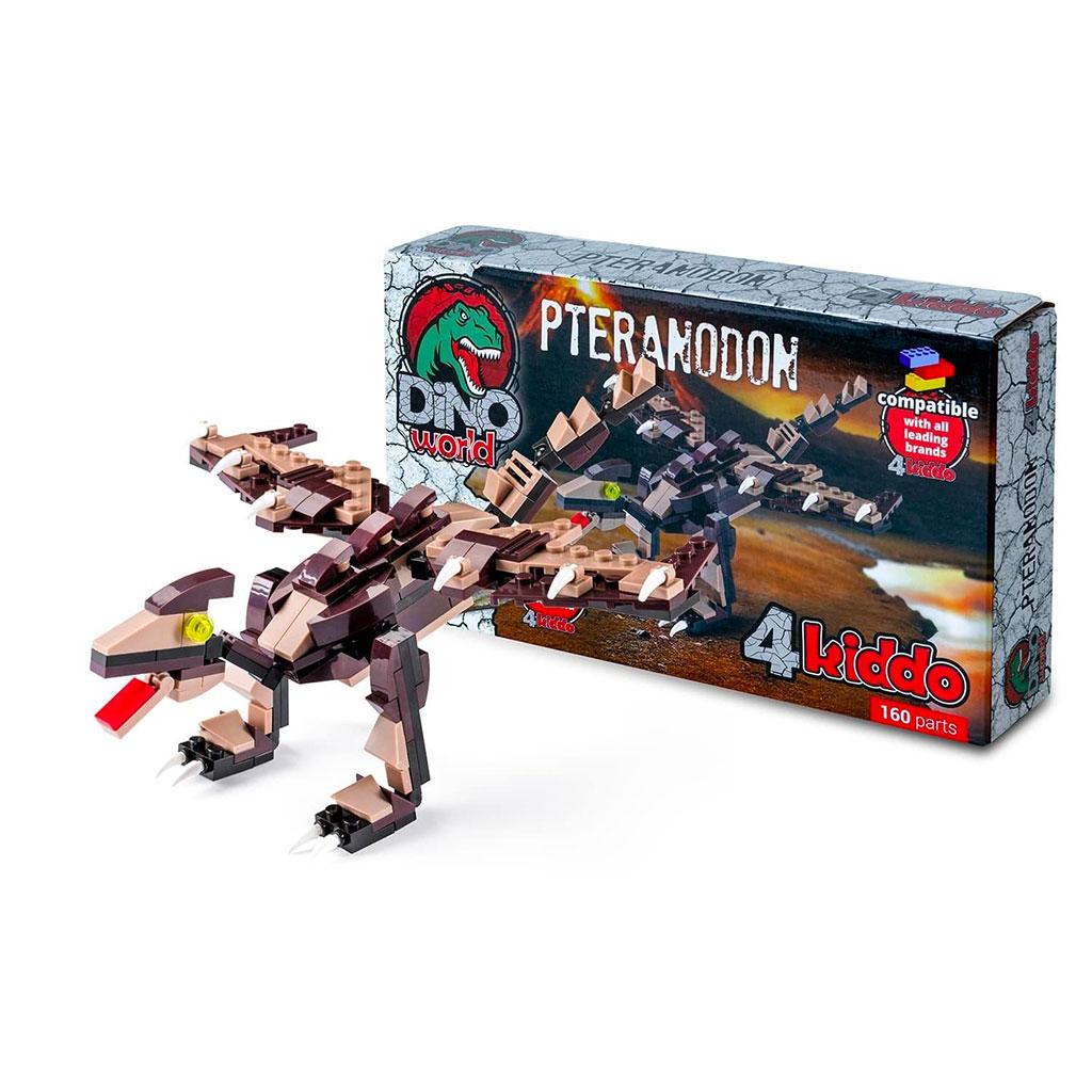 Pteranodonte Lego Compatibile 4kiddo Modellino Scatola