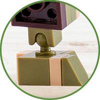 Stegosauro 4kiddo Lego Compatibile Artigli
