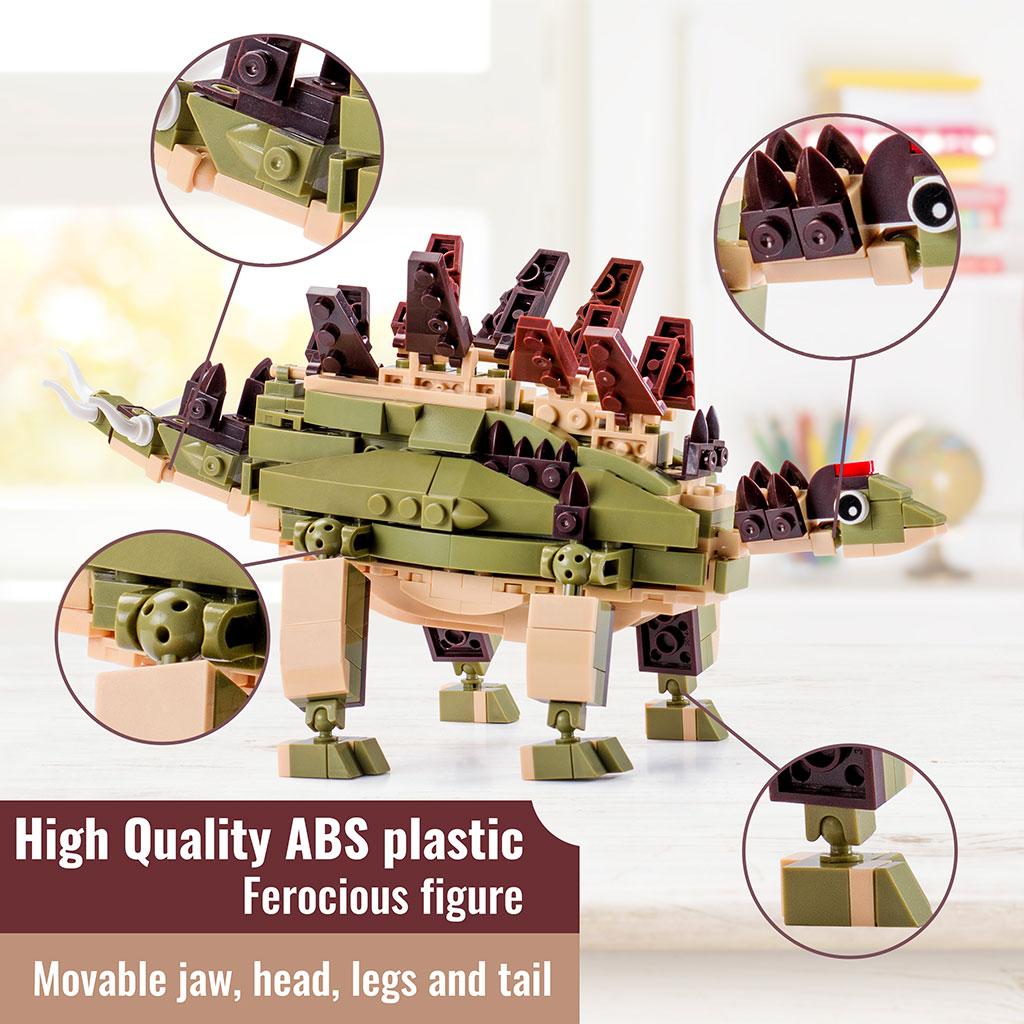 Stegosauro 4kiddo Lego Compatibile Dettagli