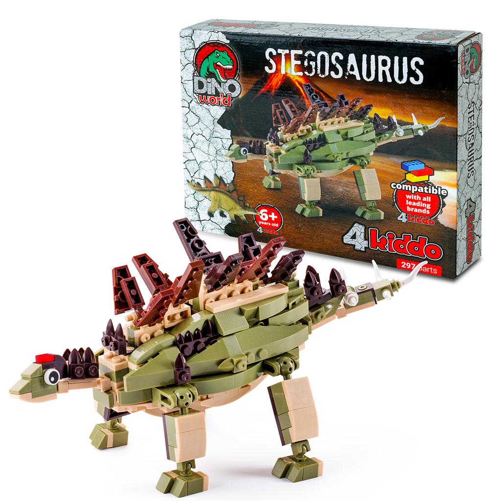 Stegosauro 4kiddo Scatola Modellino