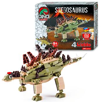 Stegosauro Da Costruire Lego Compatibile 4kiddo