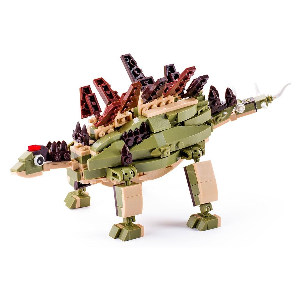 Stegosauro Lego Compatibile 4kiddo 297 Mattoncini
