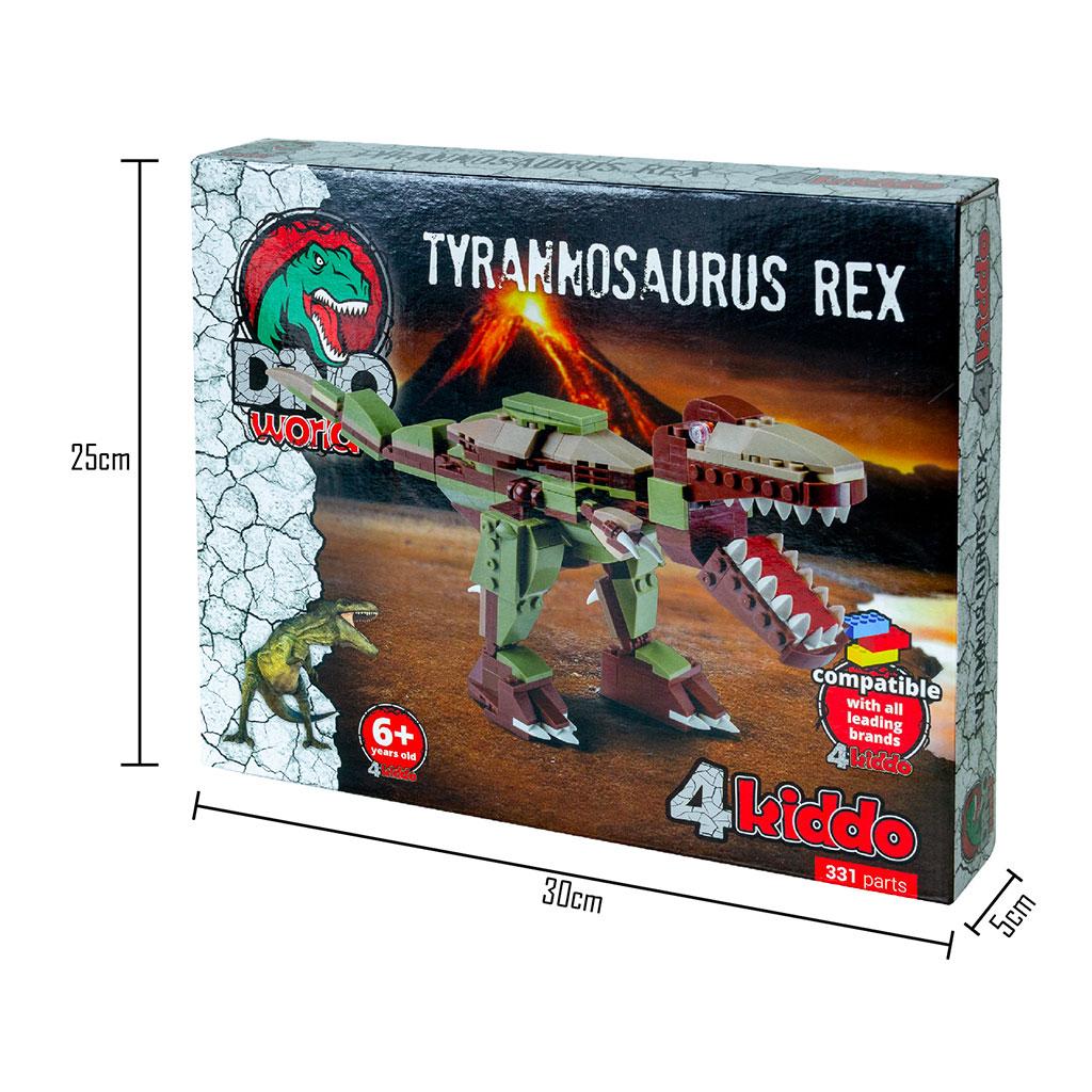 Tirannosauro Compatibile Lego 4kiddo Scatola